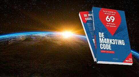 MARKETINGBOEK VAN HET JAAR 2021: De MarketingCode!